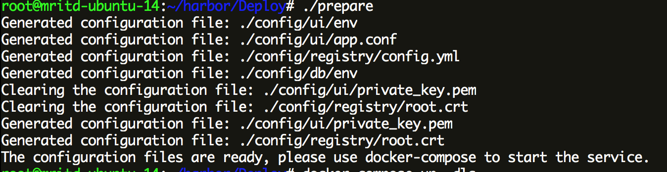 hexo_docker_harbor_prepare